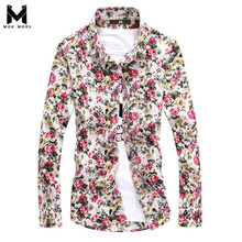 2017 New Fashion Brand Camisa Masculina Men Shirt Long Sleeve Cotton Slim Fit French Cuff Casual Male Social Dress Shirt Clothes