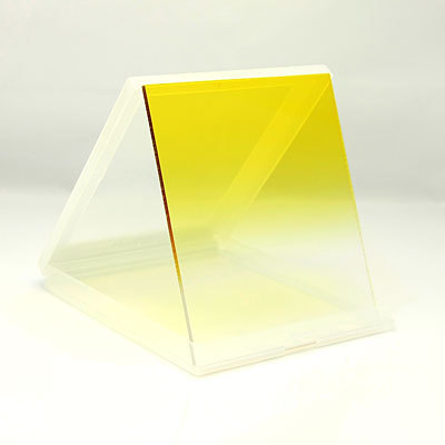 Gradual Yellow Filter Plexiglas for Cokin P series 83.5mm*95.3mm