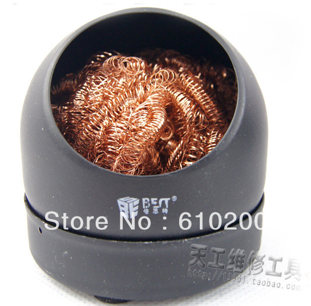 Soldering Iron Tip Cleaning Clean Ball  Sponge can be used repeatedly solder soldering tip cleaning sponge