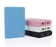 DIY Cell Box Portable External Battery Mobile Phone Charger Power Bank Box Shell 12000mAh for iPhone 5 samsung note 3 No battery