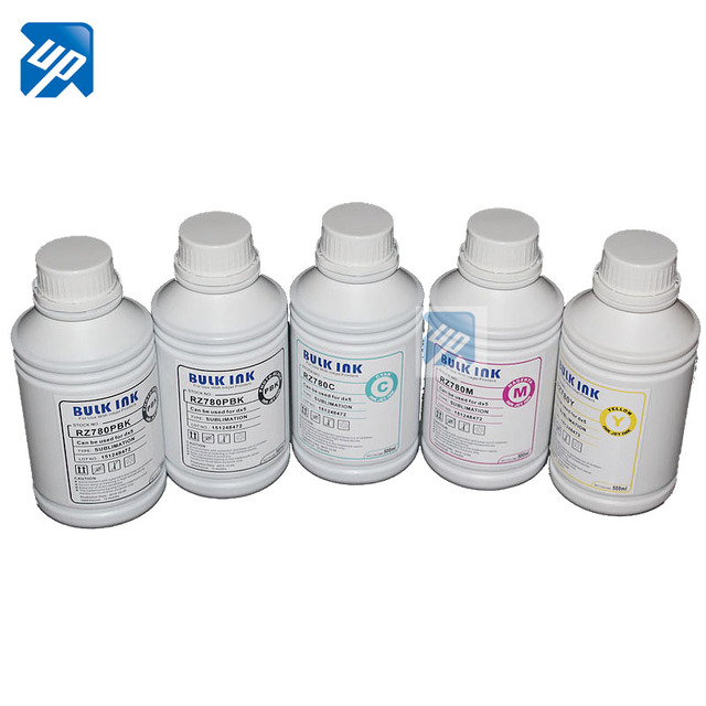 5 x 500ml high quality dye sublimation ink used for Epson Stylus B1100 BX310FN printer T0711  for all 5colors printer