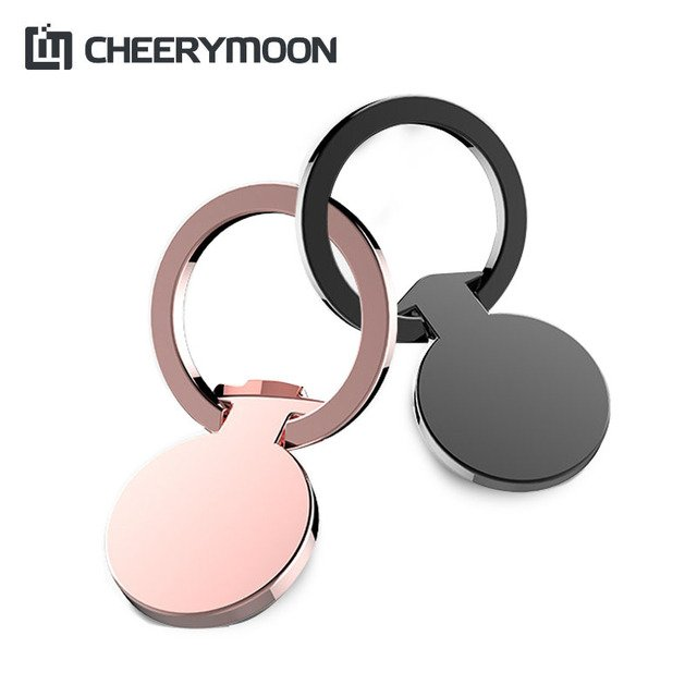 CHEERYMOON Lovers Series Ring Holder Universal Mobile Phone Stand Metal Finger Grip For iPhone X Samsung S8 8 Huawei Bracket