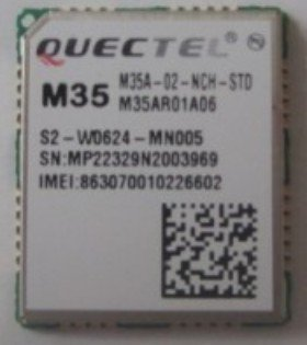QUECTEL M35 GPRS/GSM communication module four frequency new ultra small size