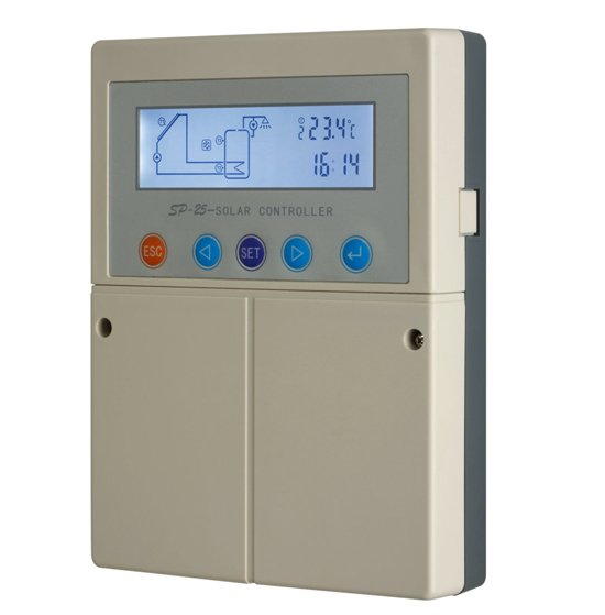 Solar Controller SP25 Auxiliary heating control For Split heating system retail or whosales 2ys warranty