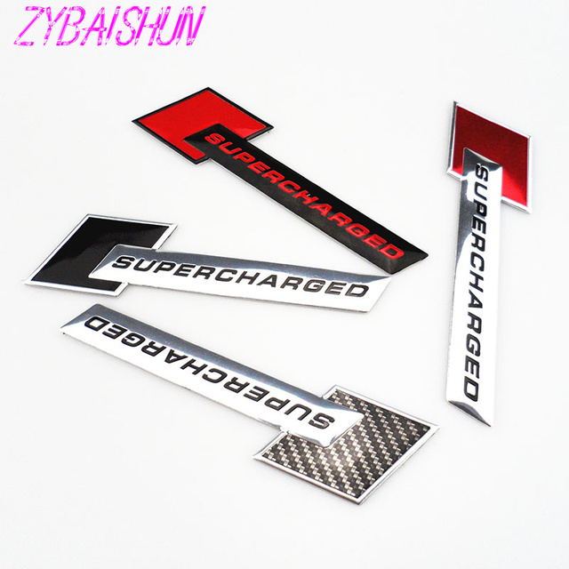 New 3D Metal Motorsport Supercharged Styling Car Emblems Stickers for Lexus ES250 RX350 330 ES240 GS460 CT200H CT DS LX LS IS ES