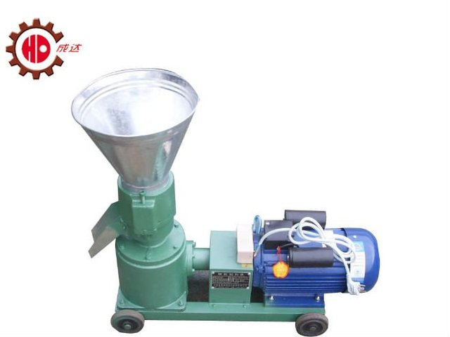 KL120B wood pellet mill with 2.2kw 220v or 3kw 3 phases