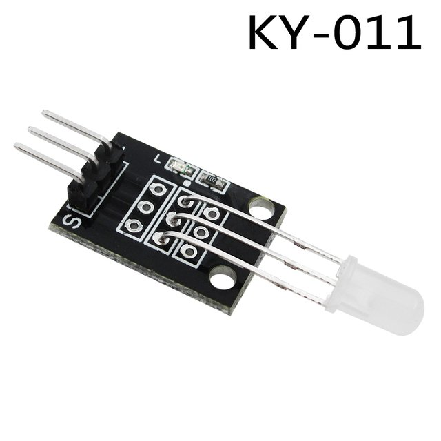 New KY-011 Two Color LED Common Cathode Module Red and Green For