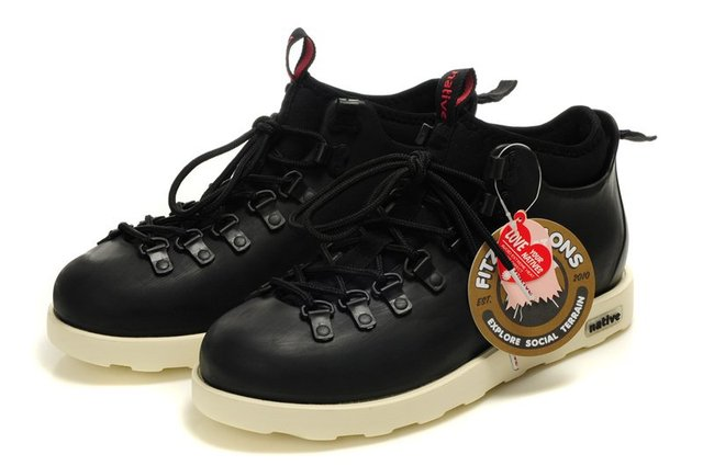 native shoes native Fitzsimmons Boots Black