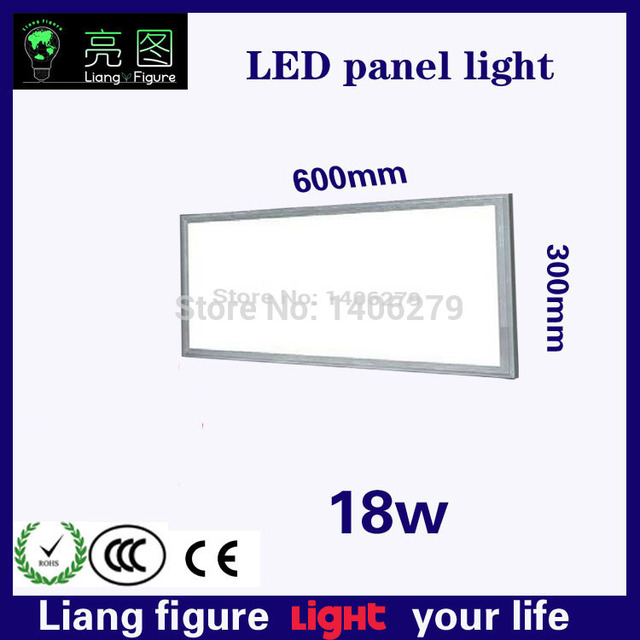 Wholesale LED 18W AC 300*600mm Panel Lamp Light ceiling lampada LED ultrathin kitchen light for living room bedroom hotel