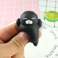 Mini  Soft Sticky squishi stress relief toys Squeeze Fun Joke Rising Toys Squishy Cute cat /Claw antistress ball Abreact