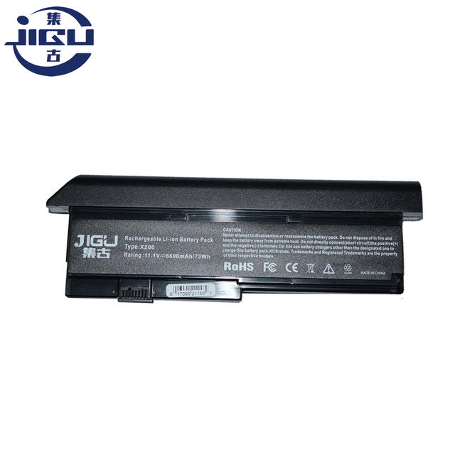 JIGU Laptop Battery For IBM Lenovo ThinkPad X200 Series 7454 7455 7458 ThinkPad X200s 7465 ThinkPad X201 X201s X201i X201-3323