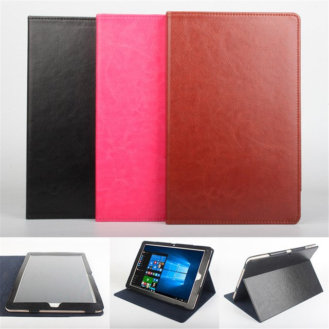 For Chuwi Hi Book 10.1 inch Tablet PC Case Good Quality PU Leather Case Back Skin Cover For Chuwi Hi Book Table Case Drop ship