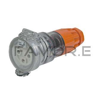 *32A single/three phase 3 pin round extension socket connector 56CSC332