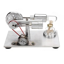 Stirling Engine Generator Model Motor Science Physical Laboratory Educational Steam Power Toy