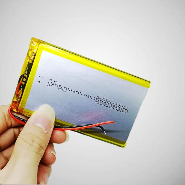 6060100 polymer lithium battery 3.7V mobile power charging treasure general 5V rechargeable ultra-thin large capacity