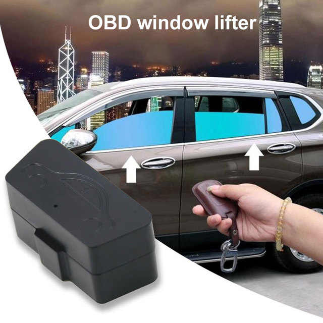 Vehemo OBD Remote Controller Vehicle Window Closer Closing Module System Car Window Closer Professional Auto Window Closer