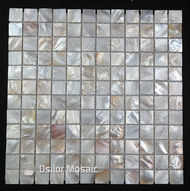 natural color 100% natural Chinese freshwater shell mother of pearl mosaic tile for kitchen and washroom decoration wall tile