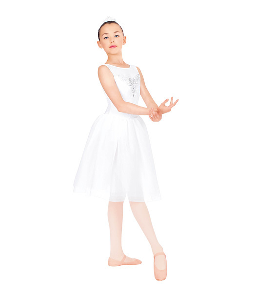 White Professional Ballet Costumes Real Kids Dresses for Girls Dance Dress Performance Wear Costumes Classical Ballet Tutu