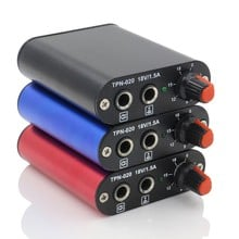 1pc Mini Tattoo Power Supply Professional Black /Red/Blue Motor Power Supply For Rotary Tattoo Machine Gun Tool