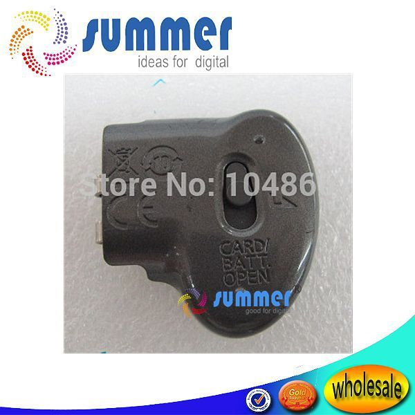 free shipping  digital Camera  Parts A590  battery cover for Canon A590  original (gray no new but  good)
