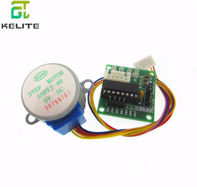 HAILANGNIAO 5Lot Stepper Motor + ULN2003 Driver Board for AVR/ARM 5V 4-Phase 5-Wire 5 x Stepper motor 5 x Driver board
