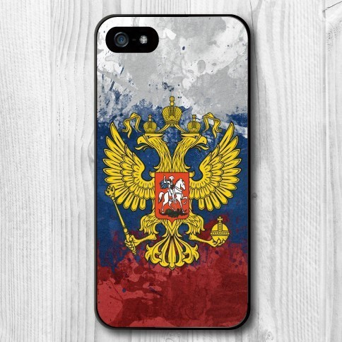 New Listing Russian Flag Skin Plastic Hard Case for iPhone 4/4s/5/5s/5c/6/6s/6plus/6s plus/7/7plus