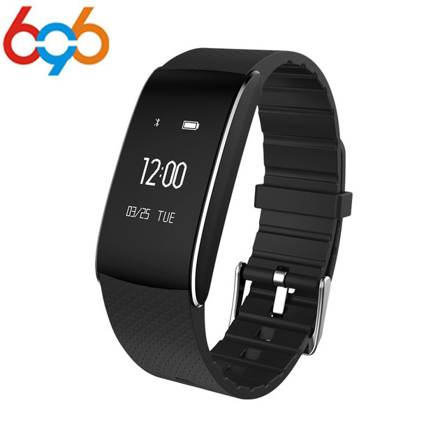 696 A86 Smart Wristband Blood Pressure Heart Rate Fitness Tracker  Watch Pulse Cardio Sport Smart Band Bracelet