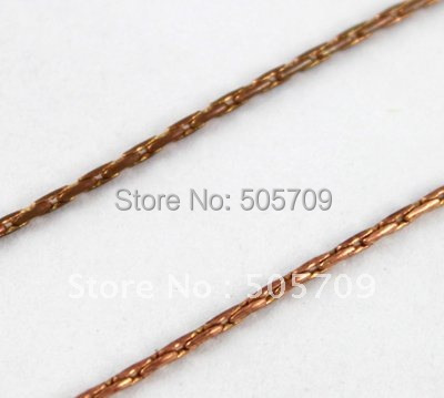 20 Meters 1.1mm copper link chain #20566