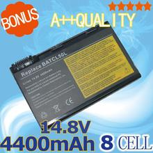 4400mah 14.8V Battery for AcerTravelMate 4152LC 4152LM 4154LM 4153LM 4154LM 4650 4650LC 4652LC 4654LM CL50 CL51