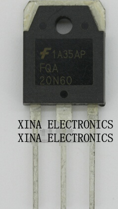 FCA20N60F FCA20N60 FCA 20N60F 600V20A TO-247 ROHS ORIGINAL 10PCS/lot  Free Shipping Electronics composition kit