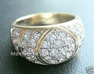 6PC Men's Ring Jewellery ring Rings Size 9#