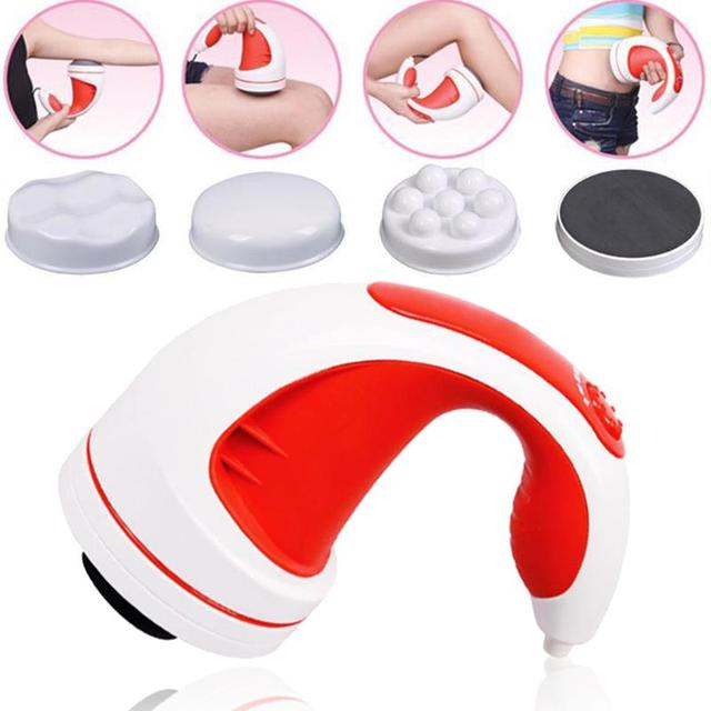 Professional Infrared Electric Body Slimming Massager Anti-cellulite Flat Roller Machine Massage Women Slim Beauty Tool