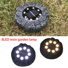 Super 8 LED Solar Power Light Ground Lamp Outdoor Path Way Garden Decking Decoration Underground Lamps Dropshipping June#6