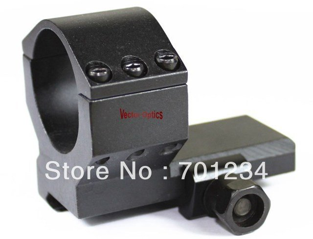 Free Shipping Tactical 30mm Flat Low Red Dot Sight Weaver Mount Ring