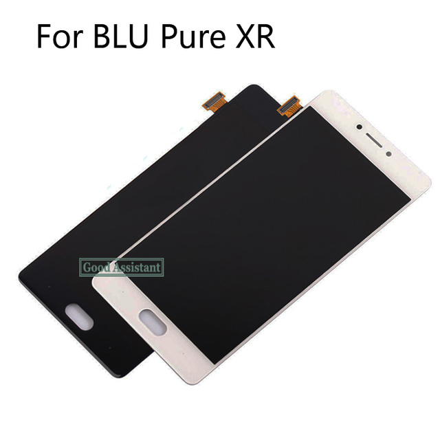 High Quality White/Black/Gold 5.5 inch For BLU Pure XR Full LCD Display + Touch Screen Digitizer Assembly Replacement