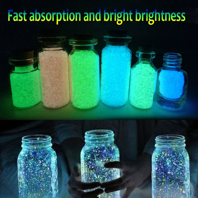 Star Sand Luminous Sand Light Sand 10g Hobby Collection Decoration Recyclability Christmas Party Decoration Prop