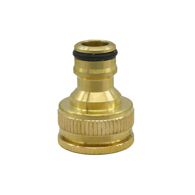 """1/2"""" Brass Joint Standard Faucet Quick Connector Agriculture Garden Accessories Water Gun Adapter Tap Connector 1 Pc"""