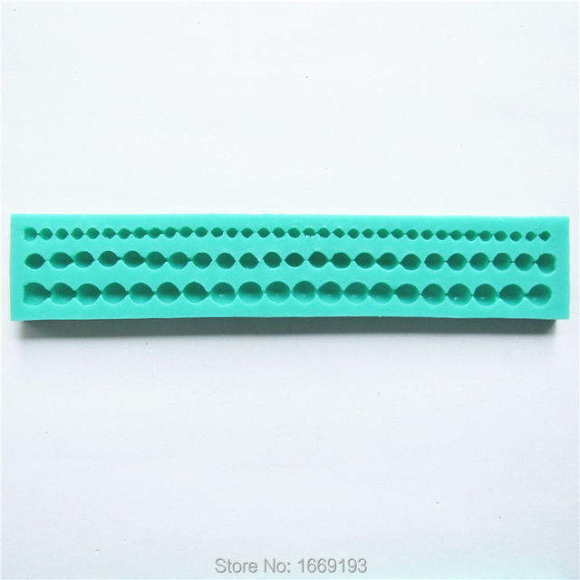 Pearl Chain Shape Sugarcraft Cake Decorating Fondant Tools Cookies And Muffins Craft Molds,Direct Selling