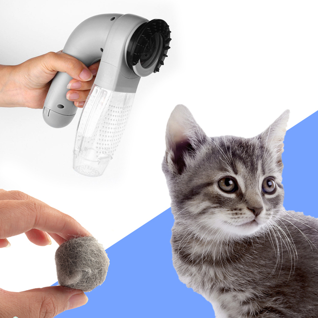 Electric Dog Pet Hair Fur Massage Grooming Clipper Trimmer Scissor Remover
