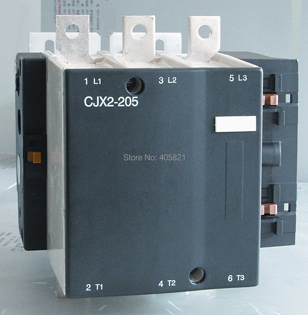 Best quality 205A AC Contactor CJX2-205 3P used for ac motor