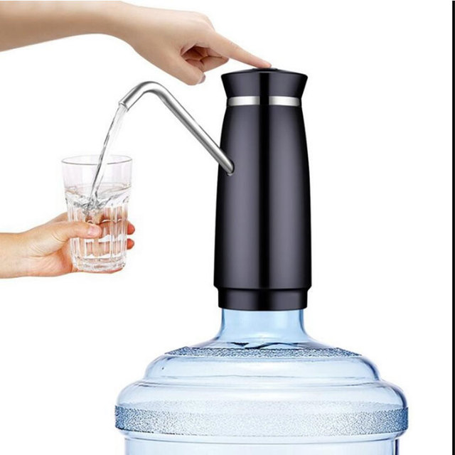 Plastic Water Pump Dispenser Home Drinking Bottle Switch Automatic Kitchen Gallon Bottle Switch Portable Straw Dorpshipping