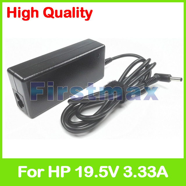 19.5V 3.33A 65W laptop AC power adapter charger for HP Pavilion 15-n000 15-n100 15-n200 15-n300 15-aw100 Stream 14-z000