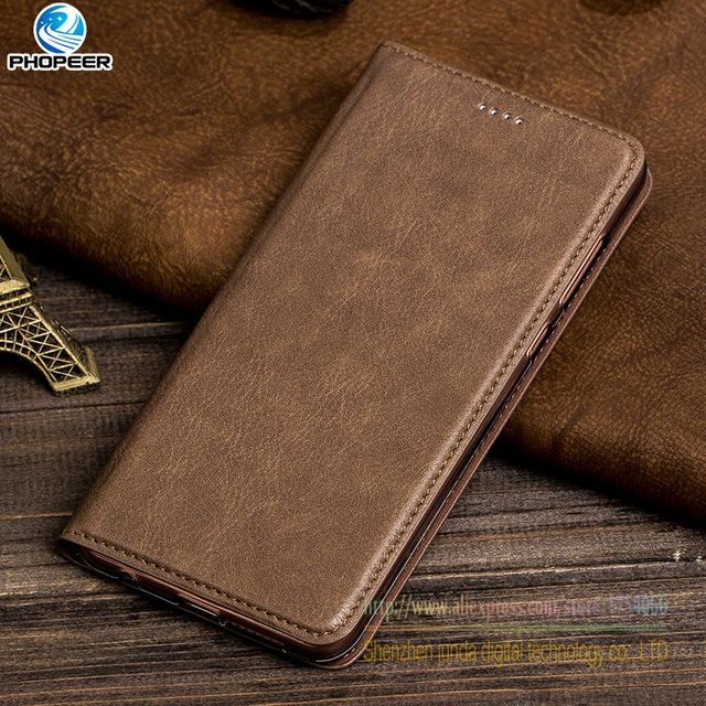 """New Brand Retro PU Leather Flip Stand Case For ZTE Blade V9 5.7""""inch Luxury Leather Mobile Phone Cover"""