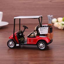 Baby Boys Toys Golf Cart Model Toys 1:36 Scale Alloy Pull Back Model Car Toys Simulation Lifelike Car Gifts for Children Kids