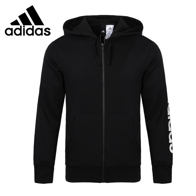 Original New Arrival  Adidas ESS LIN FZHOODB Men's  jacket Hooded  Sportswear