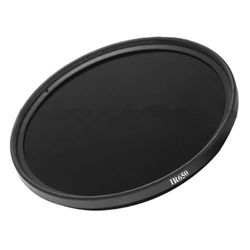 Infrared Infra-Red IR Pass X-Ray 28mm Lens Filter 650nm 650 Optical Glass For DSLR Camera Filter