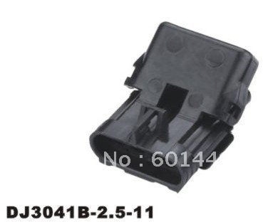 50set wire connector female cable connector male terminal 4-pin connector Electrical Equipment  Supplies seal DJ3041B-2.5-11