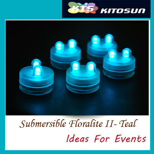 100pcs/lot  LED SUBMERSIBLE Floralyte II Lights Wedding decor waterproof candle led light