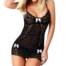 Hot Sale Sexy lingerie Sexy erotic dress 10 color Baby Dolls Dress Women Underwear Transparent Porno perspective clothes