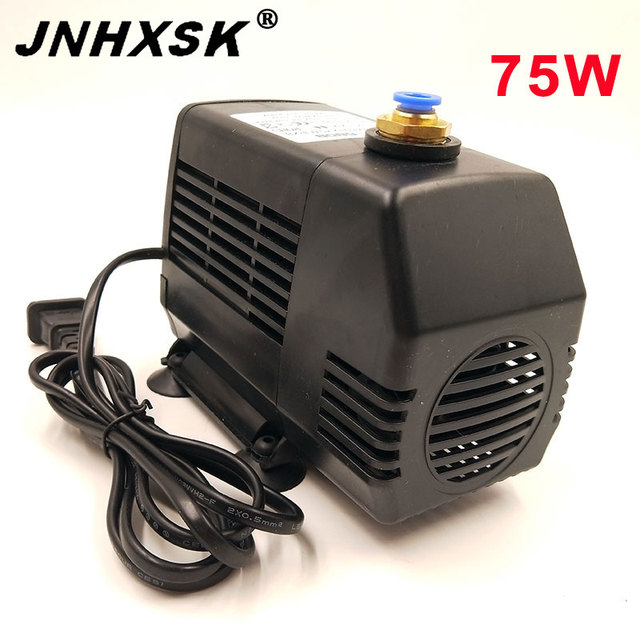 CNC 75W Water Pump Spindle Motor Water-cooled Circle Pump For Engraving Machine for 1.5KW 2.2KW spindle motor